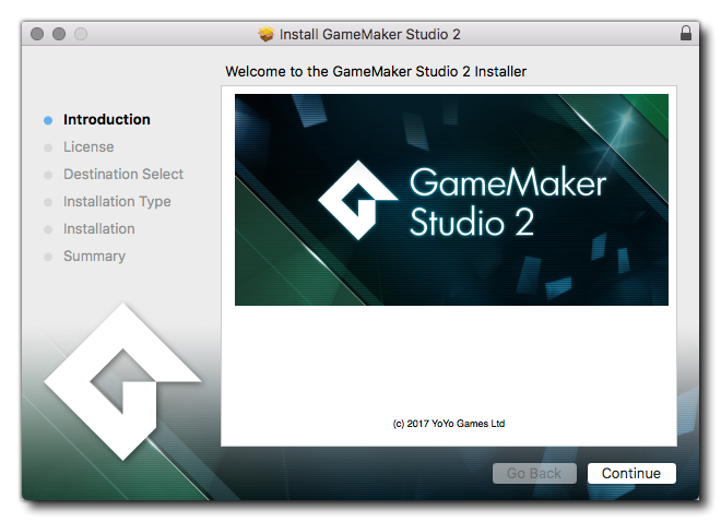 Installing GameMaker Studio 2 – YoYo Games