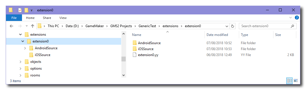 iOS and Android: Creating A Simple Extension – YoYo Games