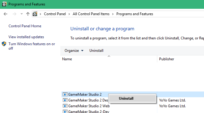 How to perform a fresh install of GameMaker Studio 2 – YoYo