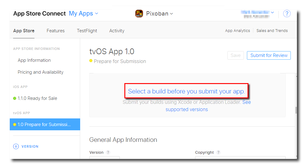 tvOS: Compiling Your App – YoYo Games